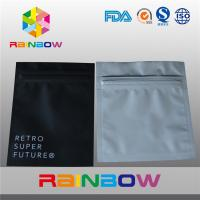 China Aluminum Foil Plastic Electronics Packaging Bag Three Side Seal Zipper Pouch wholesale