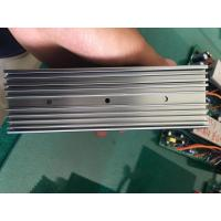 China 6063 Extruded Grey Anodized Aluminum Heat Sink With CNC Milling Holes wholesale