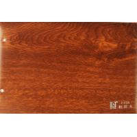 China Decorative Wood Grain PVC Lamination Film Membrane Foil For DoorFurniture Curtain on sale
