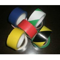 China Polyvinyl And Rubber Adhesive Pvc Warning Tape For Building Or Traffic Protection wholesale