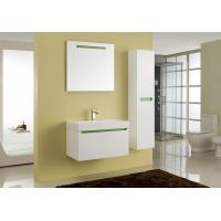 China Full Extension Drawers Square Sinks Bathroom Vanities Wall Cabinet 80 X 47 Cm wholesale