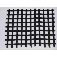 Buy cheap 30KM - 1000KN Bitumen Coating Fiberglass Retaining Wall Geogrid With Water Soluble from wholesalers