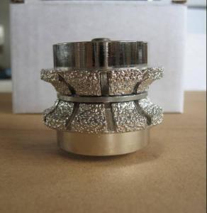 China Vacuum brazed diamond router bit wholesale