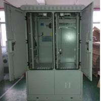 China Outdoor Integrated Telecom Cabinet, Upper Equipment Compartment, Lower Battery Compartment wholesale