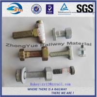 China High Tensile Strength DHG Black Oxide Railway Bolt And Nuts Grade 8.8 on sale