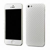 China Popular Carbon Fiber Skin Covers for iPhone 5, Full Body Skin Cover Sticker wholesale