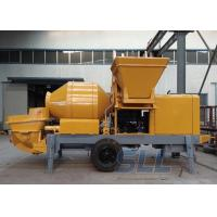 China Lightweight Concrete Mixer Pump With Mixer Electric Motor Double Shaft Type wholesale
