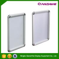 China A1. A2. A3. A4 round corner aluminum graphic frame, anodised silver picture snap frame wholesale