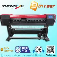 China easy operate eco solvent printer with 1.8m wholesale
