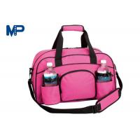 China Business Trip Camping Pink Color Cute Duffel Bags Heat Transfer Printing wholesale