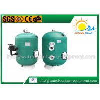 China Deep Bed Swimming Pool Filter Fiberglass Wound Tank Industrial Use 6 Way Valve wholesale