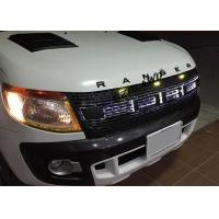 China Ford Ranger Black Grill With LED Lights ,  Ford Ranger T6 Accessories wholesale