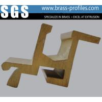 China Brass Profiles From Manufacturer For Custom Made Decorative Copper Material wholesale