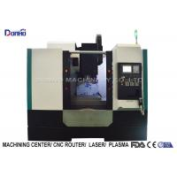 China 3 Color Alarming Lamp CNC Vertical Machining Center For Sanitary Ware wholesale