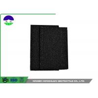 Buy cheap Black Monofilament Woven Geotextile Fabric PP High Strength 100kN / 100kN from wholesalers