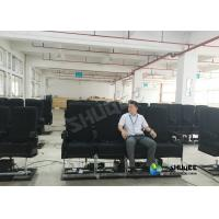 China Motion Chair 4D Movie Theater With Special Systerm And Metal Screen wholesale