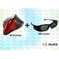 China IR 3D PC Solution with HD 3D Glasses and 3D Emitter wholesale