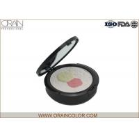 China Flower Shape Pressed Makeup Face Powder Foundation For Combination Skin wholesale