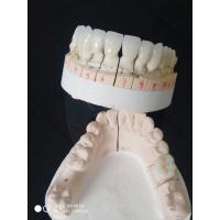Buy cheap 1M1 Shade Full Contoured Zirconia Crown & Bridge With FDA ISO Certificate from wholesalers