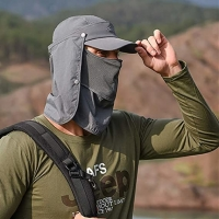 Buy cheap 58cm Outdoor Sport Hats With Mask Ear Protection Fleece Cap Washable from wholesalers