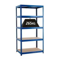 China 4 Layers Stainless Steel Shelves Detachable Concussion Resistance For Warehouse wholesale
