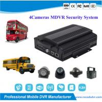 China 720P Truck School Bus 4 Camera Car DVR Security Monitoring System wholesale