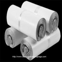 China White Poly Mailing Bags PE Plastic Material Moisture Proof Durable For Clothes wholesale