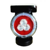 China Long life fashion solar powered safety traffic signal light, solar warning light with magnetic wholesale