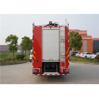 China MAN Chassis Fire Engine Vehicle With Wonderful Rail System Performance wholesale