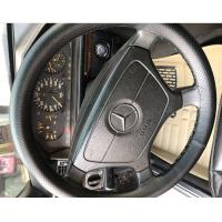 China Hand Sewing Car Stitch Steering Wheel Cover Genuine Leather With Hole High Elastic on sale