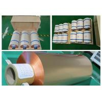 China 9 / 10um Rolled Ultra Thin Copper Foil For Li Ion Battery High Precision wholesale