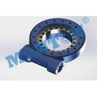 China Compact Design Worm Drive Slew Ring , Solar Slew Drive Precision Grade IP65 wholesale