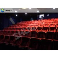 China Playground Indoor Movie Theater Sound Vibration 4D Cinema Equipment With 500 Films wholesale