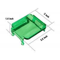 Quality Green Cover For Cube 2X2 LED Lights Vehicle Accessories For 12V jeep Trucks for sale