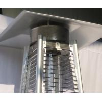 China Durable Stand Up Pyramid Outdoor Gas Patio Heater With Flame 8KW Power wholesale