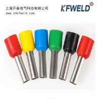 China Electrical E Tube Type Insulated Ferrule Terminal, Wire Crimp Tube Sleeve E series Pipe Pin Insulated Cord End Terminals wholesale