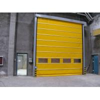China High Density PVC Insulated High Speed Door For Factory Clean Room Anti Dust on sale