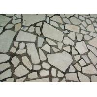 Quality White Tough Sandstone Marble Tile Adhesive On Interior / Exterior Wall And Floor for sale