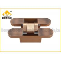China Antique copper zinc alloy 2d concealed heavy duty door hinges on sale
