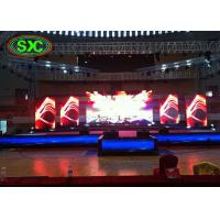 China P4 and  P10 Worked Together Full Color Stadium LED Display for Show Time wholesale
