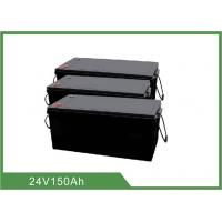 China 24V 150Ah LiFePO4 Battery Pack with BMS for LED light / Solar street light wholesale