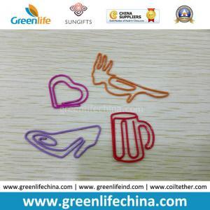 China Fashionable Cup Bird Heart Shoes Shape Custom Paper Metal Clips wholesale