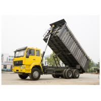 China 10 wheels HOHAN 35 tons capacity tipper construction dump trucks with chassis optional cab wholesale