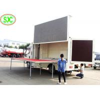 China outdoor  full color p10  mobile truck Led Display better viewing text & graphic and video wholesale