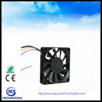 China USB PWM Axial CPU Computer Case Cooling Fans 70mm x 70mm x15mm High Speed wholesale