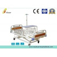 China 3 Position Hand Operated Medical Hospital Beds with Stainless Steel Guardrail (ALS-M319) wholesale