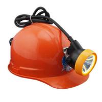 China 12000 Lux IP65 LED Rechargeable Headlight For Miner , LED Mining Cap Lamp on sale