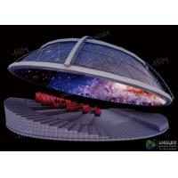 China Dynamic Dome Movie Theater For Major Scenic Spots / Museums / Planetariums wholesale
