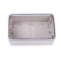 China Square Plastic IP66 250*150*130mm Clear Lid Enclosures wholesale