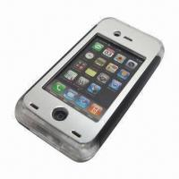 China Earphone and Volume Button Workable Waterproof Case for iPhone 4/4S, 8m Depth, Waterproof wholesale